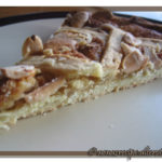 Crostata all'arancia e mandorle