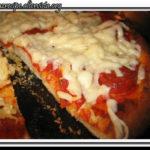 Pizza con salsiccia piccante