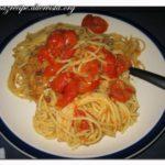 <!--:it-->Pasta con pomodorini al forno<!--:--><!--:se-->Pasta med gratinerade körsbärstomater<!--:-->