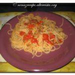 Spaghetti med vongolemusslor