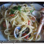 <!--:it-->Spaghetti alle vongole e scampi<!--:--><!--:se-->Spaghetti med hjärtmusslor och scampi<!--:-->