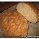Pane con miele e fiocchi d'avena