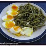 Spicchietti di uova e fagiolini