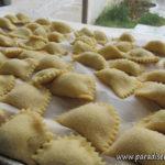 Hemmagjord pasta – Agnolotti fyllda med fisk