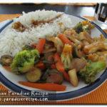 <!--:it-->Wok di riso con verdura mista<!--:--><!--:se-->Wokade grönsaker med ris<!--:-->